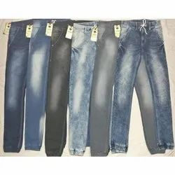 Faded Regular Fit Joggers Jeans