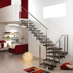 Interior Stainless Steel Stair