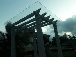 Transparent Roof / Pergola Toughened Glass, Thickness: 4-12.4 mm, Shape: Rectangle