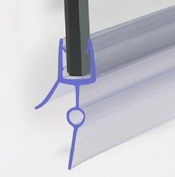 PVC Soft Nose Glass Shower Seal