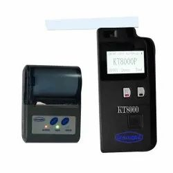 KT8000P Breath Alcohol Analyzer Bluetooth Printer