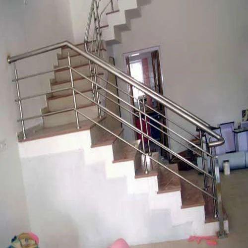Modern SS Stair Railing