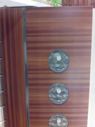 Plywood Door With Camera