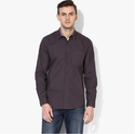 Coffee Regular Fit Casual Shirt 8110372