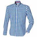 Mens Checked Cotton Shirt