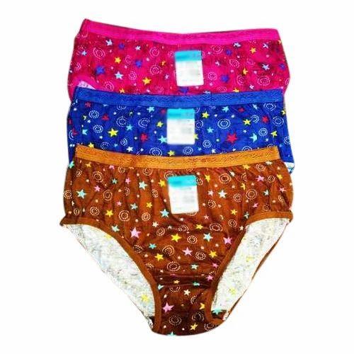 da7dae48cc6 Multicolor Rubber Ladies Printed Cotton Panty