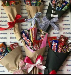 Multi Chocolate Bouquet, For Gift
