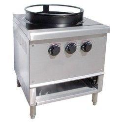 Rajawat kitchen Equipment Stainless Steel SS Chinese Single Burner Range
