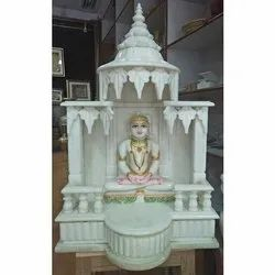 White Hand Craved Marble Temple