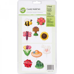 WILTON-Candy Mold-Garden Goodies. W25607