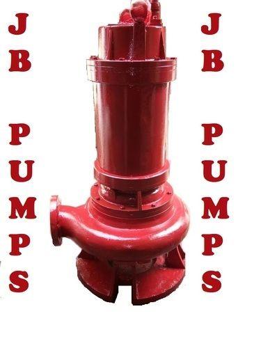 JB PUMPS Three Phase Heavy  Submersible Sewage Pump, JBSP, AC Powered