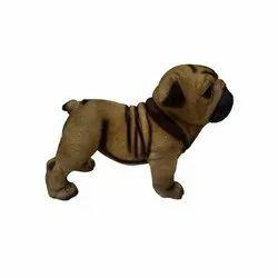 Polyresin Hutch Dog Statue