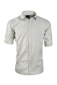 UD Design Printed Half White Casual Shirt