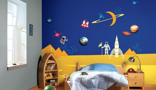 multicolor asian paints milky way wall sticker | id: 19110500697