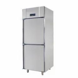 Shree Ambica Vertical Combi Refrigerator/Freezer, Electric, Temperature Range: -18 To - 22 Degree Celsius