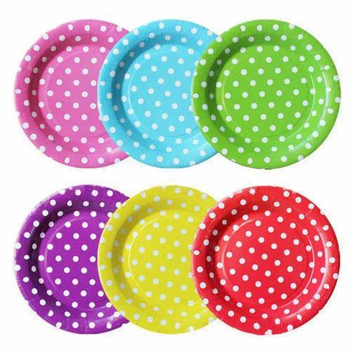 Green And Yellow Paper Designer Plate  sc 1 st  IndiaMART & Green And Yellow Paper Designer Plate Rs 45 /packet Angurala ...