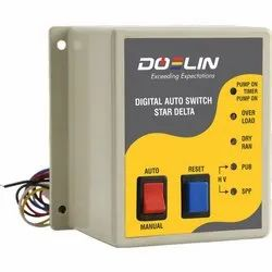 Star Delta Dry Run DOL Digital Auto Switch