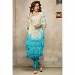 rnd Party wear Designer Salwar Suit, Dry clean