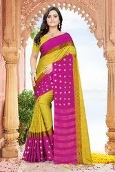 Aangi Cotton Ston Work Saree