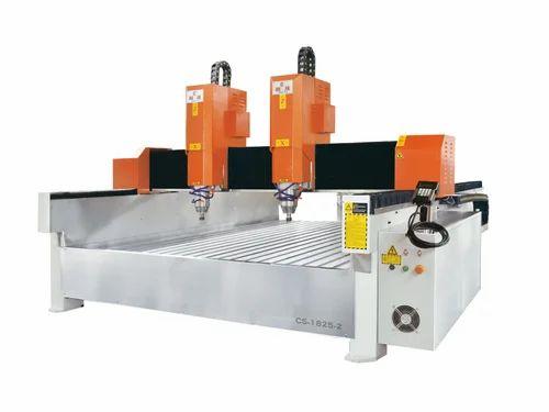 Double Head Stone CNC Cutting Machine