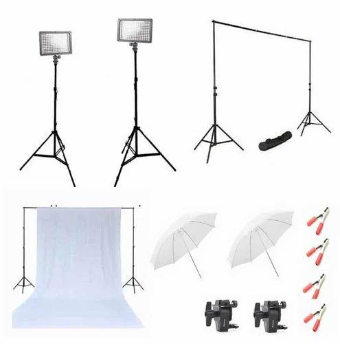 Led Studio Lights India: LED Video Light Setup Kit