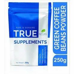 Pure Green Coffee Beans True Supplements Powder