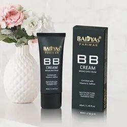 Baidyas Pariwar BB Cream, Type Of Packing: Tube, Carton Box, Packaging Size: 40 ml