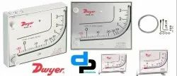 Dwyer Mark II Model 40-250Pa Manometer Range 10-0-250pa