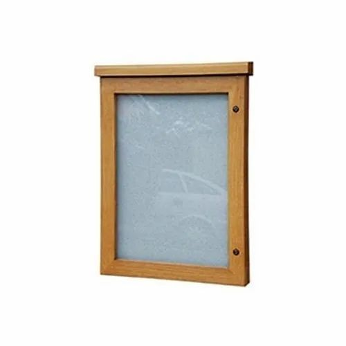 Softboard Core Shreeji enterprise Pin Board With Wooden Frame, Board Size: 24'  x 18' , Frame Material: Durable Aluminium