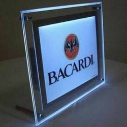 LED Acrylic Sandwich Display Board