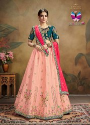 Panchhi Pure Silk Lehenga