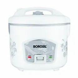 White Borosil Rice Cooker Maker, For Home
