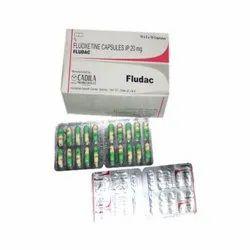 Fludac Fluoxetine Capsule