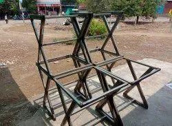 Black Mild Steel Table Frame