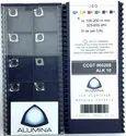 Carbide Alumina Aluminium Machining Inserts Ccgt060208 Alk10