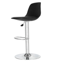 Black Colored Bar Stool