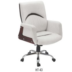 White Revolving Director Chair
