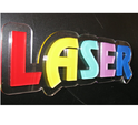 Acrylic Lasercut Rising Letter