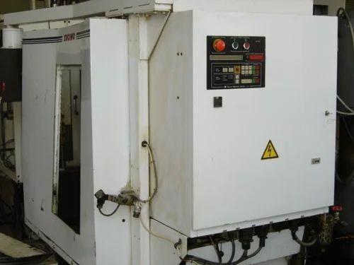 Automatic, Semi-Automatic Sigino CV6 Drill And Tap Center CNC ...