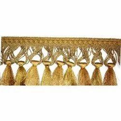 Yellow Thread Fringe