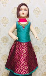Kids Traditional Lehenga Choli Girls