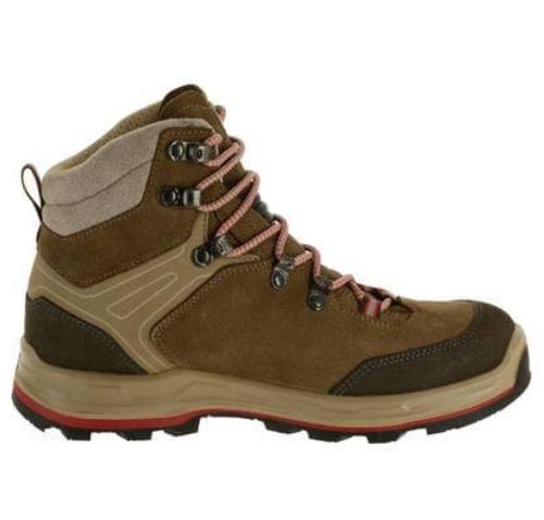 Women Dark Grey Trek 100   s Trekking Shoes a482df7330f9