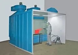 Industrial Liquid Paint Booth
