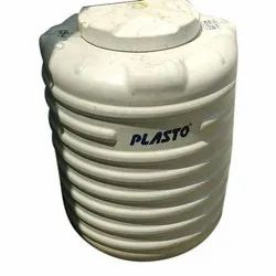 Round Triple Layer Plasto Water Tank, Storage Capacity: 250-500 L