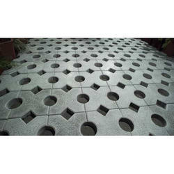Concrete Grass Paver Block