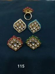 Fancy Kundan Ring