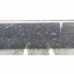 Granite Stone Black Pearl Slab, for Flooring, Thickness: 15-20 mm