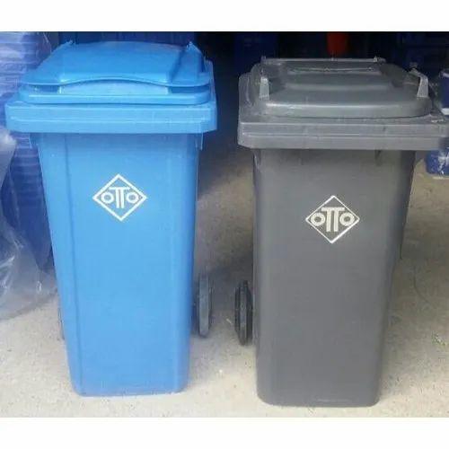 Plastic Otto 120L Wheeled Waste Bin