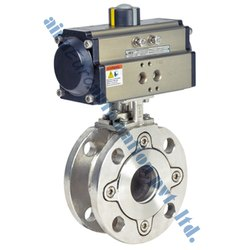 Pneumatic Wafer Ball Valve