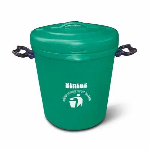 Plastic Green Household Buckets, Capacity: 10 Litre